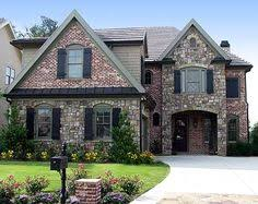 Craftsman House Plan   Craftsman  Craftsman Homes and     quot Details throughout this well planned house plan make this design special  The front elevation is a combination of brick  stone and wood and a covered porch
