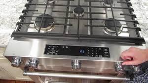 Kitchen Aid Appliances Reviews Kitchen Aid Gas Convection Slide In Range Review Ksgb900ess Youtube