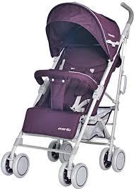 <b>Коляска</b> прогулочная <b>Everflo</b> ATV purple Е-1266 бордовый ...