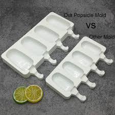 Joho Baking <b>Silicone Ice Cream</b> Mold Popsicle Molds Ice Pop Maker ...