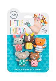 <b>Happy Baby</b> Набор <b>игрушек</b> на пальцы LITTLE FRIENDS: 449 ...