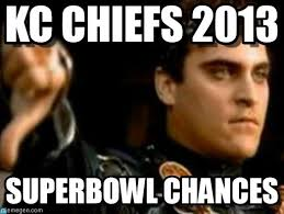 Kc Chiefs 2013 - Downvoting Roman meme on Memegen via Relatably.com