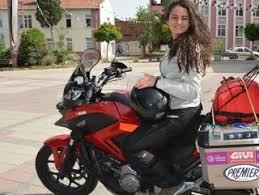 Kadın akademisyen motosikletiyle dünya turuna çıktı