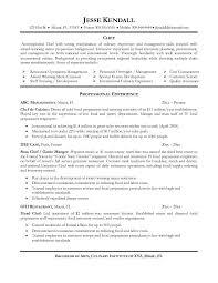 chef resumefree resume templates