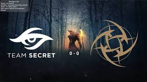 [Live!] <b>Team</b> Secret vs. <b>Ninjas in Pyjamas</b> - BO3 ESL One Los ...