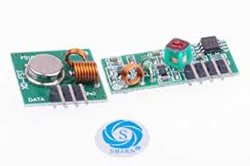SMAKN® 433Mhz Rf Transmitter and Receiver Link ... - Amazon.com