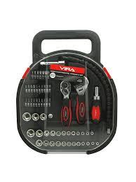 <b>Набор инструментов</b>, <b>головок и</b> бит 64 предмета VIRA 6030942 в ...
