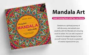 Buy <b>Mandala Art</b>: Colouring Books for Adults with Tear Out Sheets ...