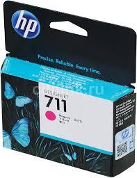 <b>Картридж HP</b> 711, пурпурный [<b>cz131a</b>]