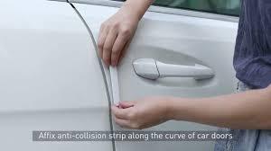 <b>Baseus</b> Streamlined <b>car door</b> bumper strip Black - YouTube