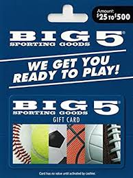 Big 5 Sporting Goods - Gift Cards