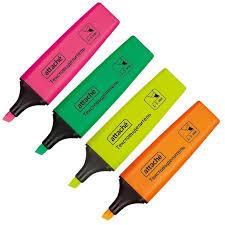 <b>Маркер выделитель</b> текста <b>Attache</b> Colored 1-5 мм набор 4 цвета ...