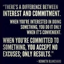 Interest vs. commitment #quote | Quotes | Pinterest