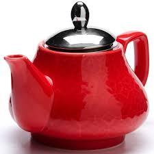 "<b>Чайник заварочный</b> ""<b>Loraine</b>"", цвет: красный, 750 мл. 26591 ..."