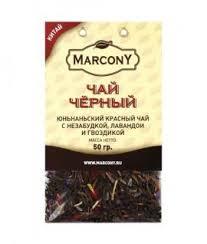 <b>Чай чёрный</b> листовой Marcony юньнаньский <b>чай</b> с незабудкой ...