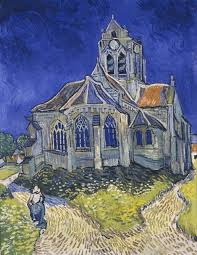 Vincent <b>van Gogh</b> - The Church in Auvers-sur-Oise, View from the ...
