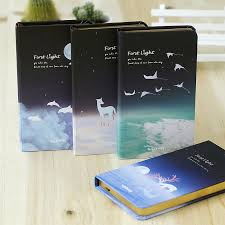 2PCS LENWA The First Light Series <b>Notebook Creative Vintage</b> ...