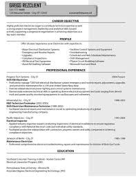 industrial electrician resume experience resumes industrial electrician resume pertaining to keyword