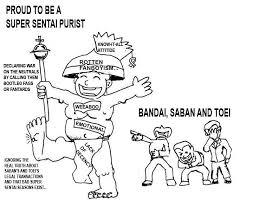 Some Funny Illustration Of The Super Sentai Purist via Relatably.com