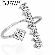 ZOSHI Brand 2019 <b>New</b> Ring <b>Fashion Elegant</b> simulated <b>Pearl</b> ...