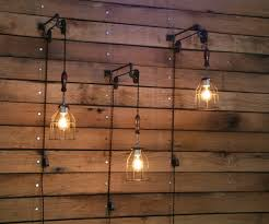 light wall ideas modern restaurant interior design ideas industrial wall light