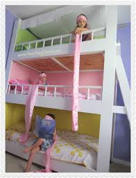 girls room playful bedroom furniture kids: well bunk with bed best ideas furniture modern small cool bunk bed ideaspurple wall white marvellous