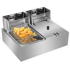 ZOKOP 12L 5000W <b>Electric</b> Deep Fryer With Basket <b>Stainless</b> Steel ...