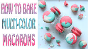 How to Bake Multi-<b>Color Macarons</b> Video Tutorial - YouTube