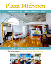 seller s guide home sweet home atlanta example of listing flyer