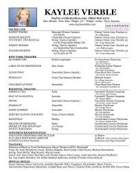 kaylee verble official website resume kaylee verble resume