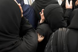 apphoto mideast saudi women of hajj photo essay