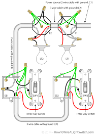 3 way switch wiring diagram diy pinterest 3 Way Light Switch Wiring Diagram Uk 3 way switch with power feed via the light (multiple lights) how to · circuit diagramelectrical wiringlight 3 gang 2 way light switch wiring diagram uk