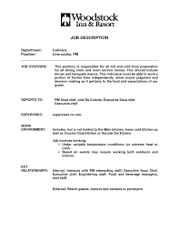 chef job description template chef job description
