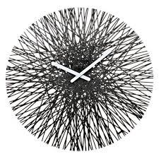 <b>Часы настенные silk</b>, чёрные | Настенные часы, Часы ...