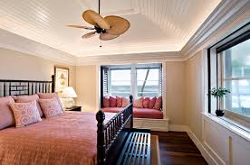 ceiling fans for low ceilings bedroom tropical with baseboard beige wall black baseboards ceiling fan
