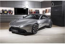 Aston Martin Vantage 4.0 AT (510 л.с.) Серебристый в Москве ...