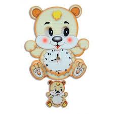Настенные <b>часы Мишка</b>