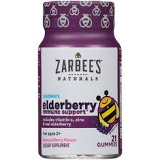 Zarbee's Naturals <b>Children's Elderberry Immune Support</b>*, Vitamin C ...