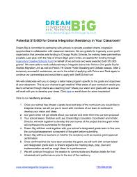 customized school programs dream big performing arts workshop click here to about drama integration residency in your classroom