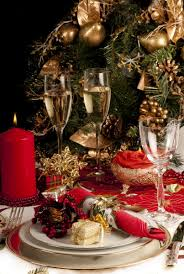 images christmas dining table decorations
