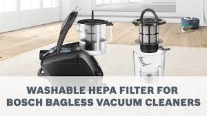 <b>HEPA Filter</b> for Allergy Sufferers - <b>Bosch</b> Vacuum Cleaner - YouTube