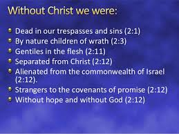 Image result for Ephesians 2:12