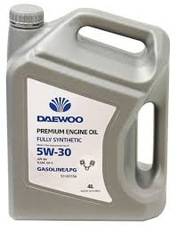 Моторное <b>масло Daewoo Power Products</b> Fully synthetic SN 5W ...