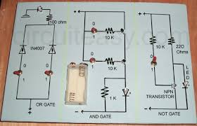 logic gates   electronics projects and circuit made easylogic gate project