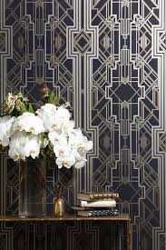 would love this art deco wallpaper in an entryway art deco inspired pinterest