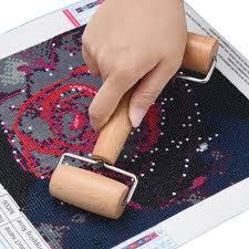 Tuscom 5D <b>Diamond Painting Tool</b> Set Wood Roller <b>DIY</b> Diamond ...