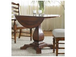 round dining tables for sale sale hooker furniture waverly place distressed antique cherry  wide round drop leaf pedestal dining