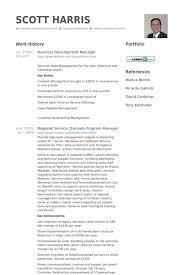 business development manager resume samples   visualcv resume    business development manager resume samples
