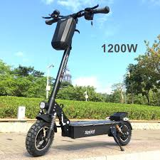 SpeedBike <b>SK1 1200W Electric</b> Scooter with colorful LED pedal ...