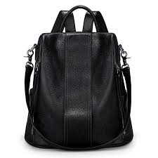 S-ZONE Women Soft Leather Backpack Antitheft ... - Amazon.com